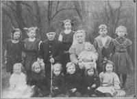 Greatgrandparents Snedden and grandkids